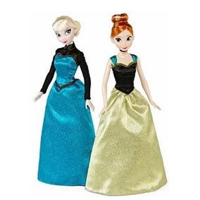 Disney Congelado Coronación Elsa Y Anna Classic Dolls 2-pack