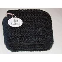 Bufanda Infinita Tejida A Crochet Precio Al Por Mayor X 10u.