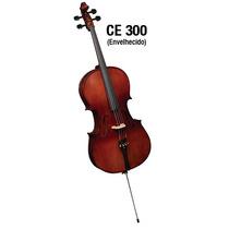 Cello Eagle Ce300 4/4 - Ajuste Luthier + Corda M. Calixto