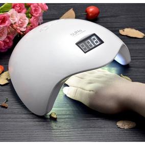 Lampara Profesional Uñas Manicure 48 Watts Led Y Uv Uso Rudo