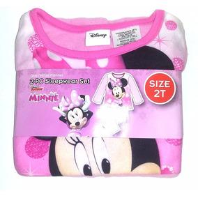 Pijama Minnie 3t Disney Navidad Regalo Niña Hogar Moda