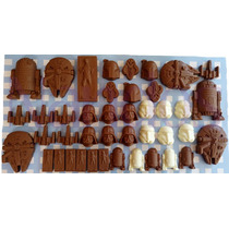 6 Chocolates Star Wars Con Caja Personalizada