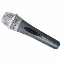 Microfone Dinâmico De Alta Fidelidade E Desempenho Cabo P10