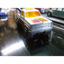 Antiguo Majorette 1/62 Chevrolet C10 Silverado Grua N°291