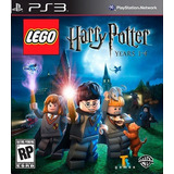 Lego Harry Potter Years 1-4 Ps3 Fisico Nuevo Sellado