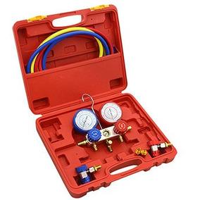 Manometro Aire Acondicionado R134a R410 R22 Refrigeracion