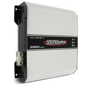Modulo Amplificador Soundigital Sd3000 Evo 3000w Rms 1 Ohm