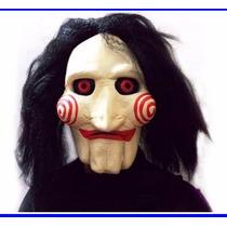 Máscara Jigsaw Jogos Mortais Fantasia Halloween Cosplay Orig