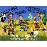 Kit Imprimible Candy Bar Canciones De La Granja 2x1!!