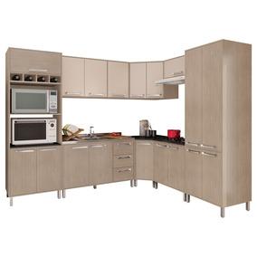 Cozinha Modulada 8 Peças - Visão Essenciale Bm115