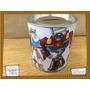 Souvenir Personalizad Alcancía Lata Rescue Bots Transformers