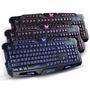 Teclado Gamer Multimidia Luminoso Ltk 009 Dex Muda 3 Cores