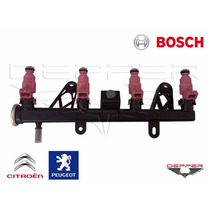 Flauta Com Bico Citroen C3 Peugeot 206 207 1.4 8v Nova Bosch