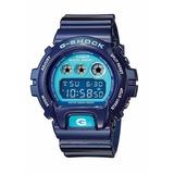 Reloj Casio Gshock Dw 6900 Azul Nuevo
