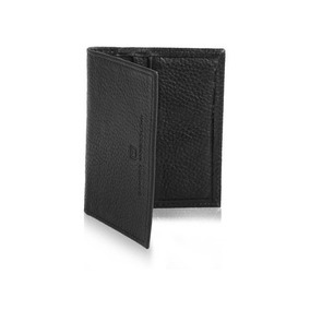 Porta Cartão - Leather Wallet Special Colection 2055 - Preto