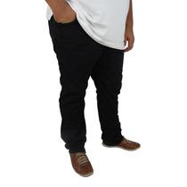 Calça Masculina Jeans Sarja Colorida Plus Size Até Nº 66