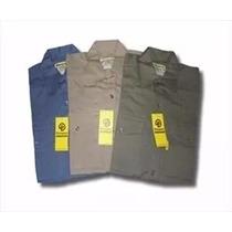 Camisa De Trabajo Pampero X 10 Unidades Oferta!