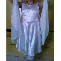 Roupa De Dança Evangélica - Vestido Com Asas