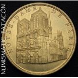 Moneda Medalla Colección Notre Dame De Paris - Francia 2011