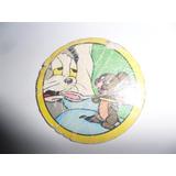 Antigua Figurita Redonda Album Tom Y Jerry