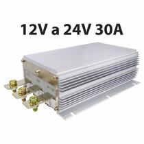 Convertidor De Voltaje 12v A 24v 30a