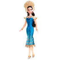 Boneca Barbie Collector Dotw Sumatra-indonesia - Mattel