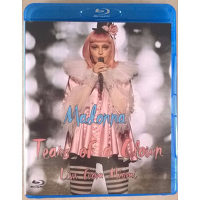 * Bluray Madonna Tears Of A Clown Com Legendas Frete Gratis