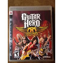 Guitar Hero Aerosmith Espetacular Impecável Jogo Raro.