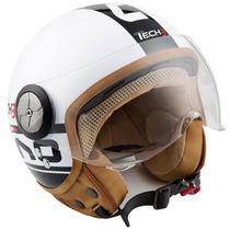 Capacete Tech3 Fashion I Nano Vintage Race Cafe