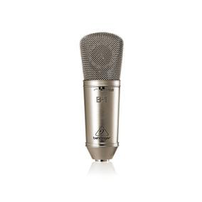 Microfone Condensador De Diafragma Behringer B-1 Prata