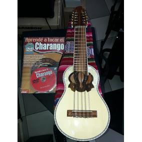Charango Luthier Boliviano Con Funda Y Curso Dvd