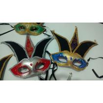 Mascara Carnaval Veneza Bobo Da Corte R$12,00