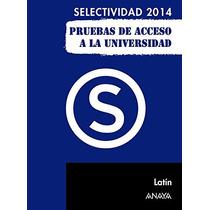 Latín (selectividad/pau 2014); Manuel Martínez Envío Gratis