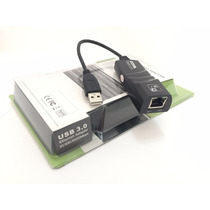 Adaptador Usb Lan Rede Gigabit 3.0 Ethernet 10/100/1000 Mbps