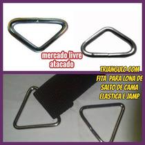 (a) Triangulo P/cama Elastica C/fita Reforçada,kit C/20peças