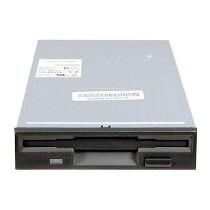 Floppy Drive P/ Disquete 1.44mb Preto Padrão 3.5
