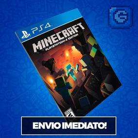 Minecraft Ps4 Código 12 Dígitos Mídia Digital Imediato