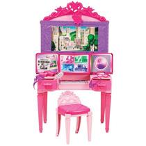 Boneca Barbie Super Princesa Centro De Comando Mattel 056883