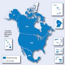 Mapa Europa Estados Unidos Garmin Lanus Lomas Envio Por Mail