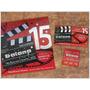Tarjetas 15 Años Entradas Invitaciones Participaciones Cine