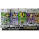 Amiibos Smash - Toon Link, Zelda, Link, Sheik, Etc.