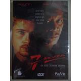 Dvd Seven -7 Pecados Mortais-com Brad Pitt -lacrado-original