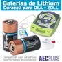 Bateria Lithium Cr123 Para Dea Desfibrilador Pacote C/ 10 Un