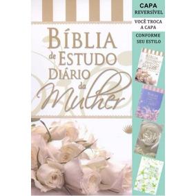 Bíblia De Estudo Diário Da Mulher - Capa Branca