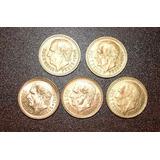 Monedas De Oro 2 1/2 Pesos 1945 Hidalgo