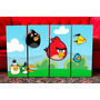 Cuadros Modernos Infantiles. Angry Birds. Decoración