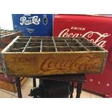Reja Caja De Refresco Coca Cola Antigua Coleccion
