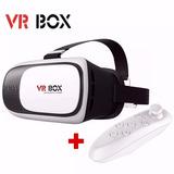 Lentes Realidad Virtual Vr Box 2.0 3d + Joystick P/ Celular