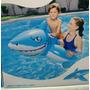 Boia Bote Tubarão Inflável Brinquedo Piscina Praia 1,83 M