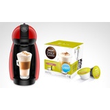 Cafetera Moulinex Dolce Gusto Piccolo Roja Md Pv1006ar - Mdp